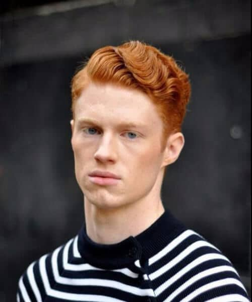 red finger waves mens hairstyles