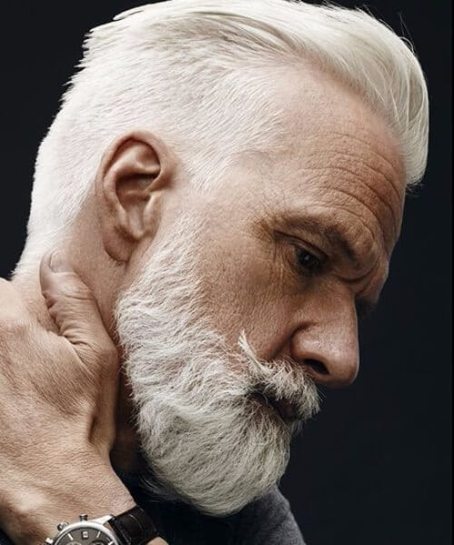 silver fox mens hairstyles