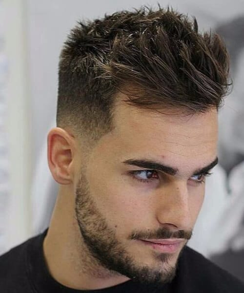 thick hair men hairstyles