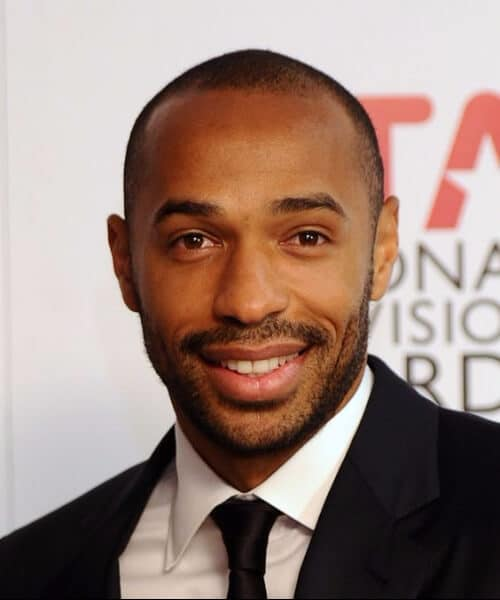 thierry henry retired soccer haircuts