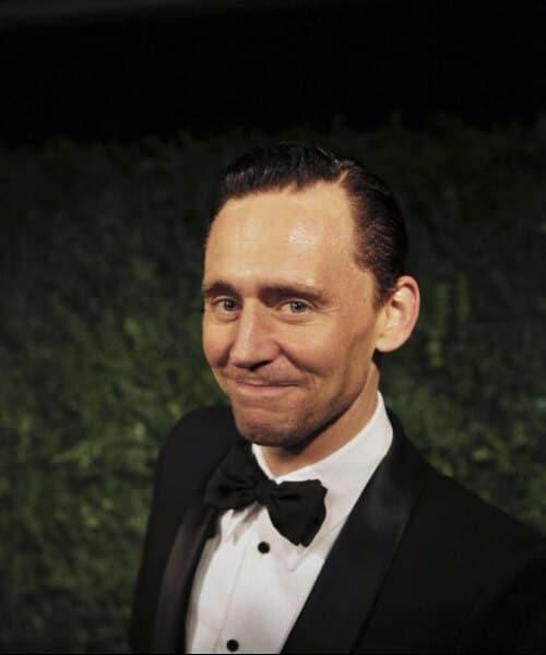 tom hiddleston slick back haircut