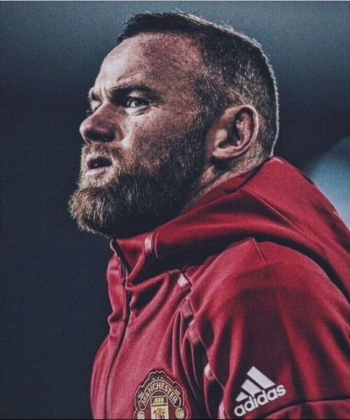 wayne rooney manchester united soccer haircuts