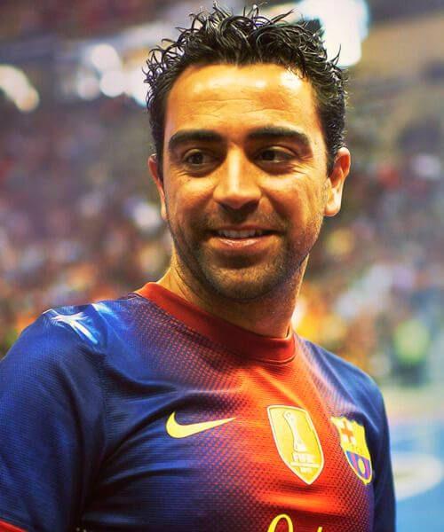 xavi Al Sadd SC soccer haircuts