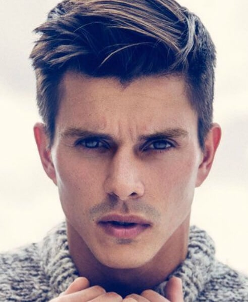 Nice Frat Hairstyles Short Comb Over Clasic Mens Hairstyles