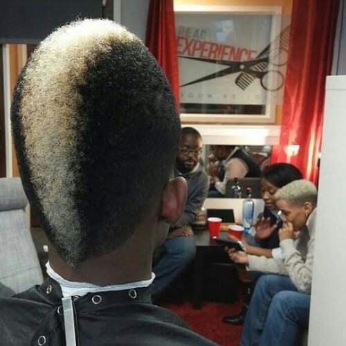 The Black and White Mohawk black men hairstyles