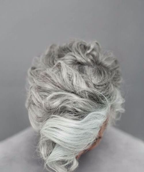 abstract platinum hipster hairstyles