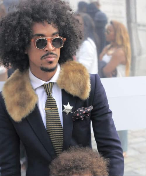 afro hipster hairstyles