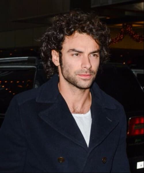 aidan turner medium hairstyles for men