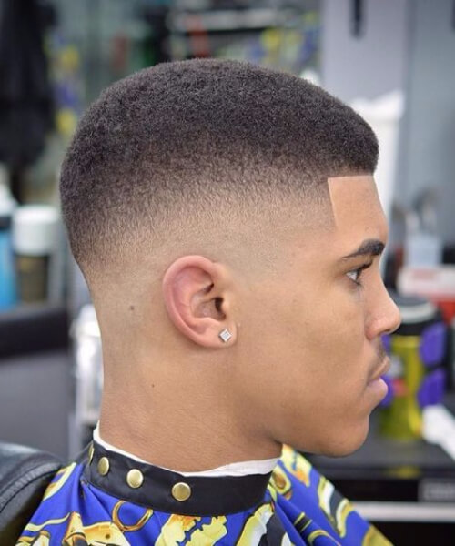 black men hairstyles short with fade