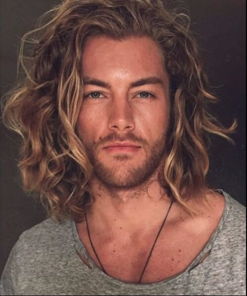 blonde beach waves modern haircuts for men