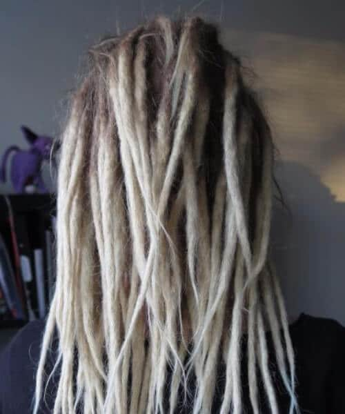 blonde dread styles