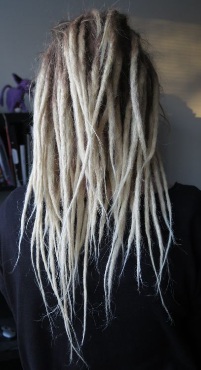 blonde dreads hipster hairstyles
