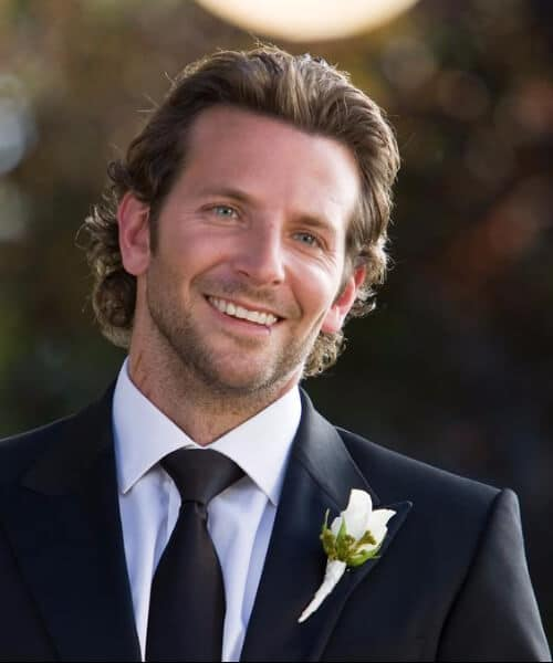 bradley cooper medium hairstyles for men
