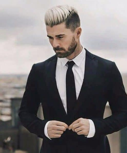 business blonde modern haircuts for men