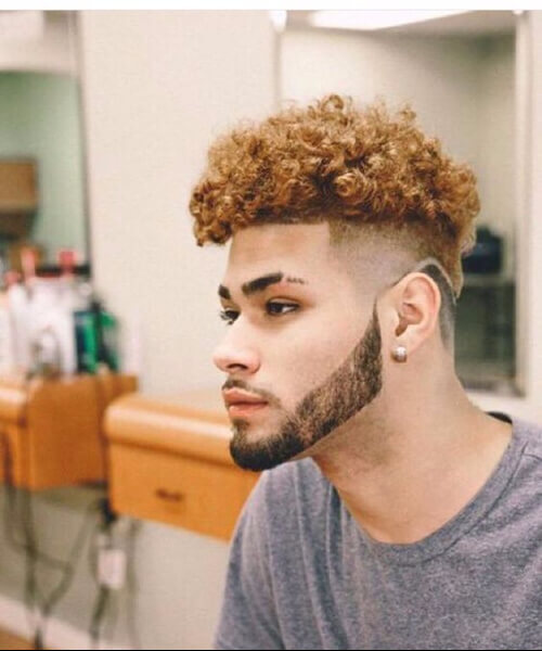 caramel black men hairstyles