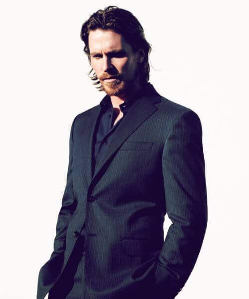 christian bale medium hairstyles for men