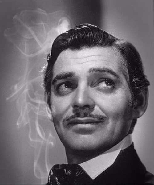 clark gable 30s finger waves classic mens hairstyles