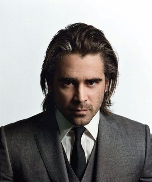 colin farrell medium hairstyles for men