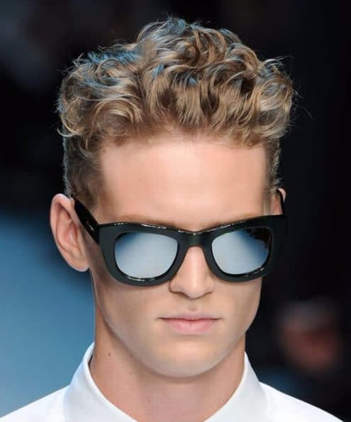 curly for thick hair modern haircuts for men