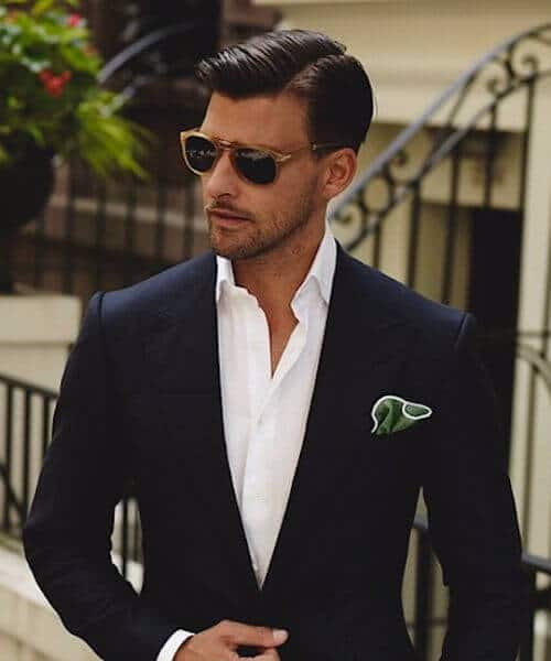dapper gentleman classic mens hairstyles