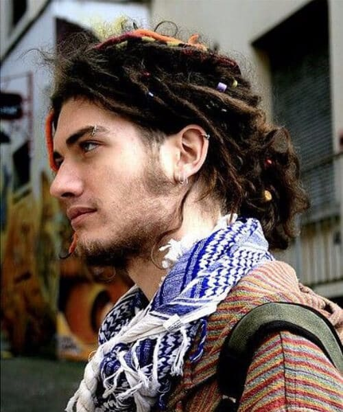 dreads and embellishments hipster hairstyles