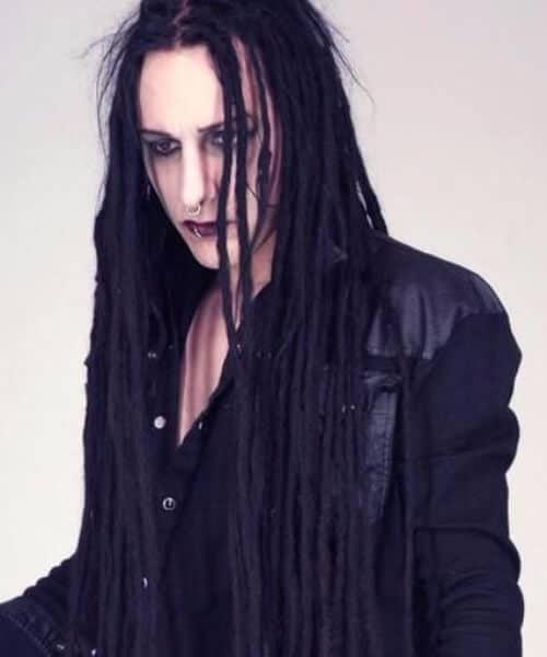goth dread styles