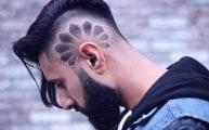 hair designs for men long beard