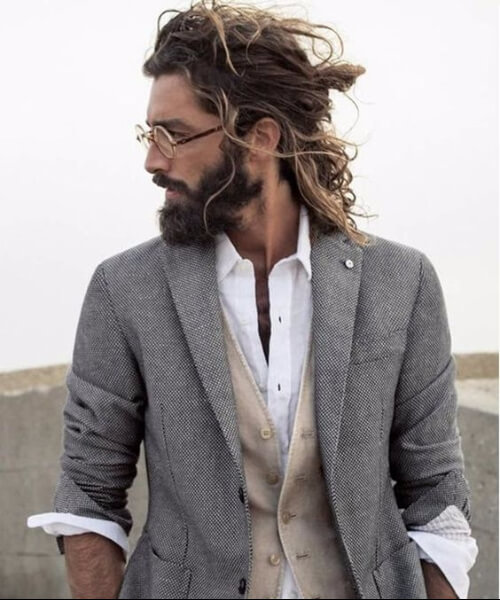half up half down hipster hairstyles