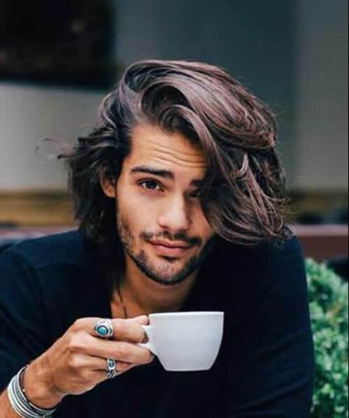 handsome medium hairstyles for men