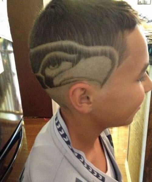 hawk pride hair designs for men