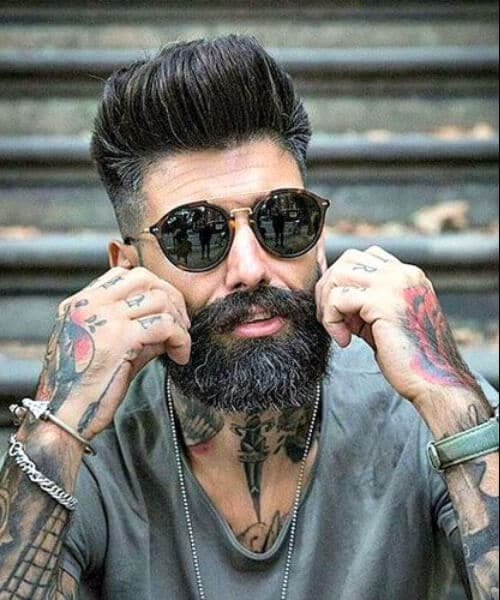 high pompadour modern haircuts for men