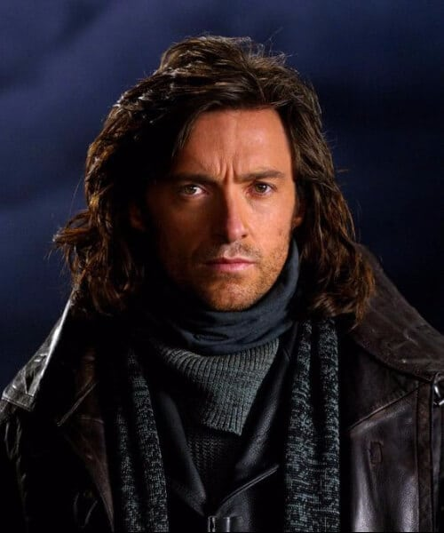 hugh jackman in van helsing medium hairstyles for men