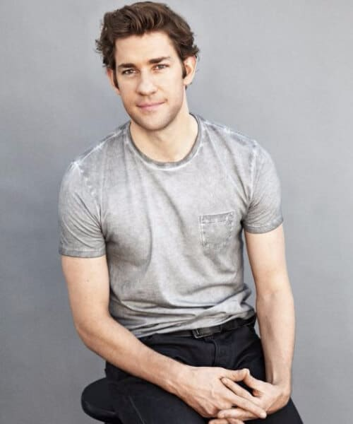 john krasinski medium hairstyles for men
