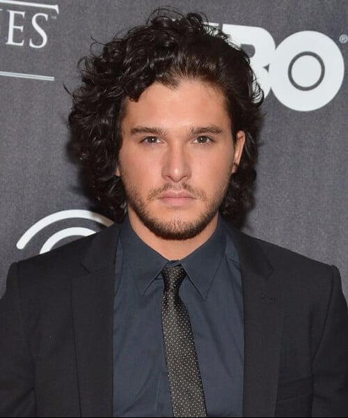 kit harrington medium hairstyles for men