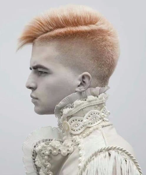 light copper brush modern haircuts for men