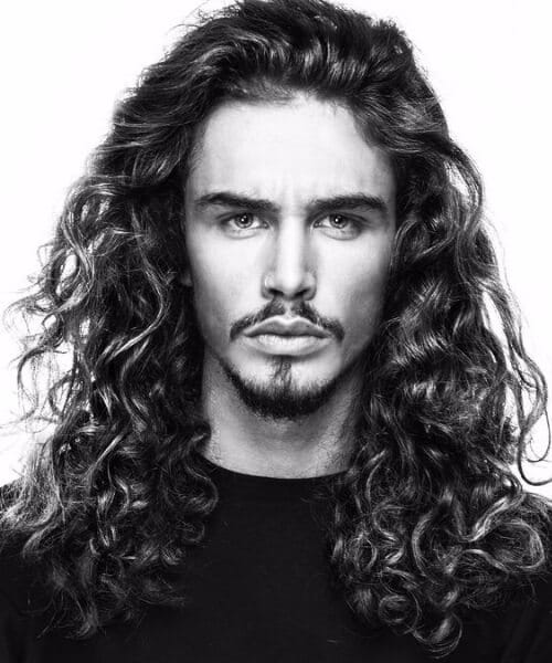 long natural curly modern haircuts for men