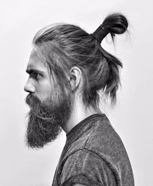 long samurai bun modern haircuts for men