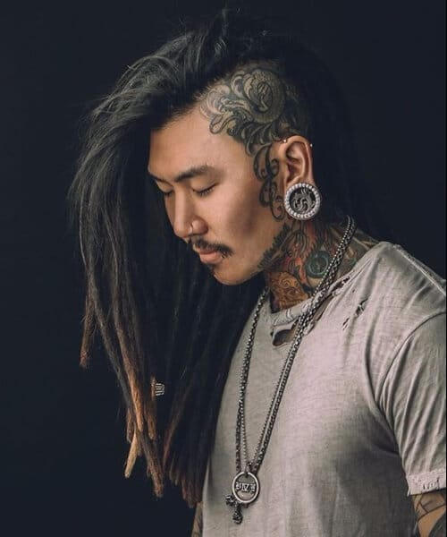 long shaved hipster hairstyles