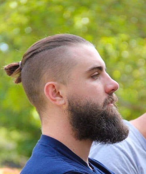 minimal top knot hipster hairstyles