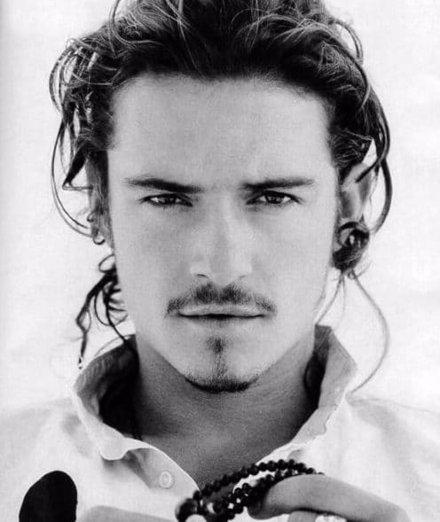 orlando bloom medium hairstyles for men