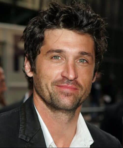 patrick dempsey medium hairstyles for men