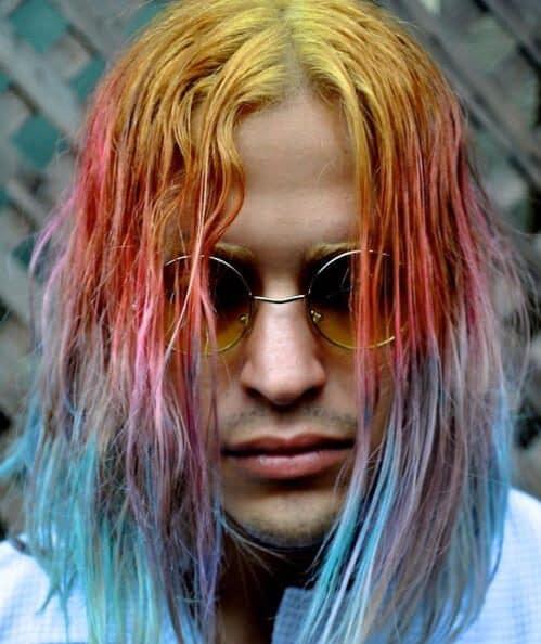 rainbow grunge hipster hairstyles