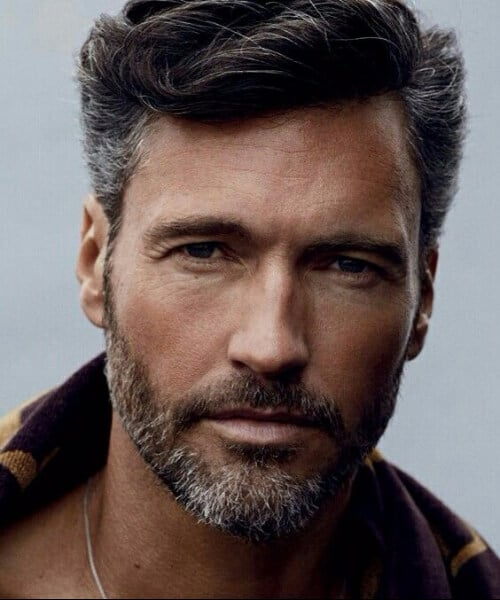 salt and pepper classic mens hairstyles