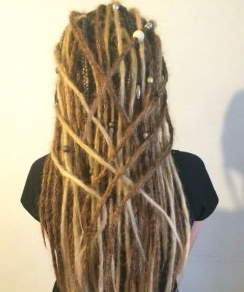 sand colors dread styles
