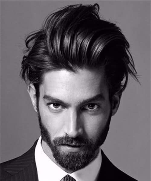 sexy slick modern haircuts for men