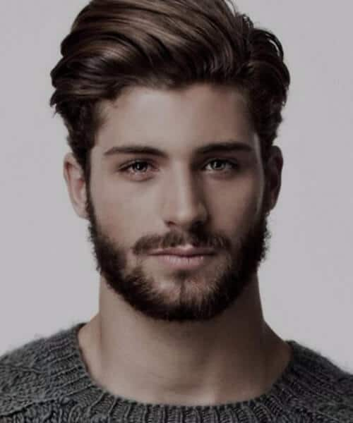 suave high medium hairstyles for men