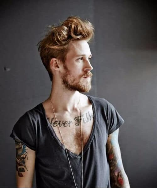 teased long top hipster hairstyles