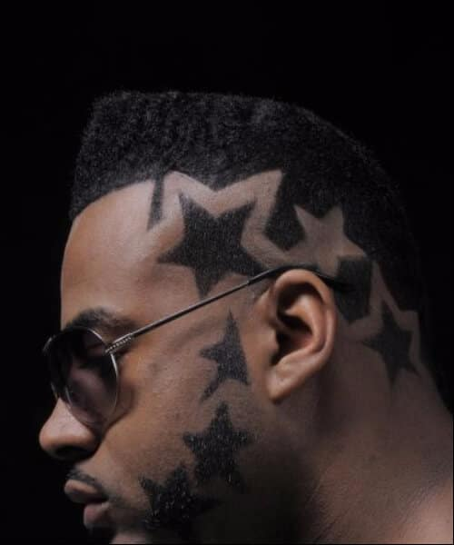 the stars hair designs for men