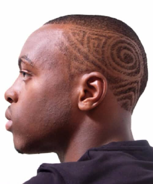 tribal hair designs for men