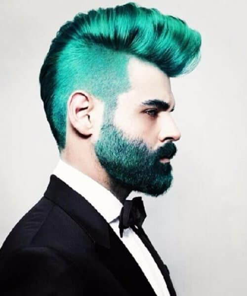 unicorn beard and hair hipster hairstyles